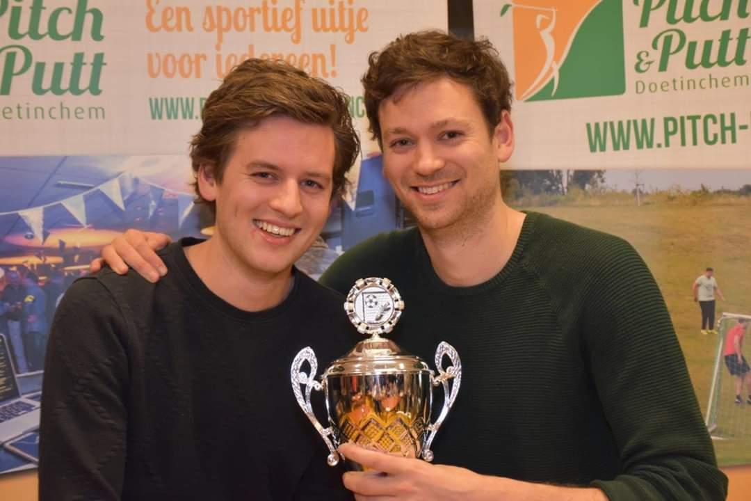 Gebroeders Winkels winnen 5e Concordia-Wehl Voetbalkwis